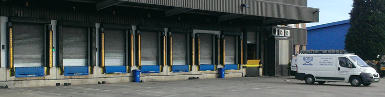 Cushion Seal | ARCS | Armo | Dock Leveller | Shelters | Loading Bays | Lifting Tables | Goods Lifts | UK