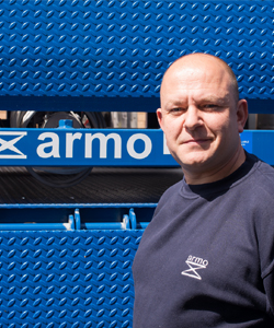 Darrell Hopwood | Armo UK | Meet The Team | Dock Levellers | Dock Shelters | Lifting Tables | Scissor Lifts