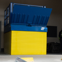 Armo | Vehicle Loading Lift | Goods Lift | Wheel Guides | Loading Bay