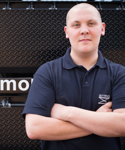 James | Armo UK | Meet The Team | Dock Leveller | Lifting Tables | Scissor Lifts | Dock Shelters