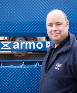 Kev Yarnold | Armo UK | Meet The Team | Dock Leveller | Lifting Tables | Scissor Lifts | Dock Shelters
