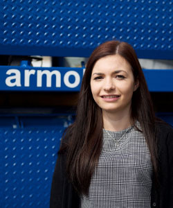 Lauren D | Armo UK | Meet The Team | Dock Leveller | Lifting Tables | Scissor Lifts | Dock Shelters
